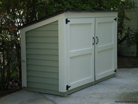 garbage bin storage shed 9 best images about garbage shed on recycling