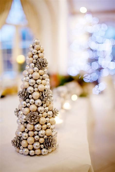 stunning winter wedding centerpiece ideas deer pearl