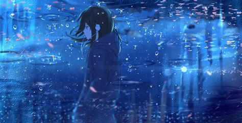 Anime Water Wallpaper - anime reflection water hd anime 4k wallpapers