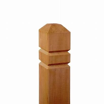 Cedar Deck Groove Wood Posts Double Ft