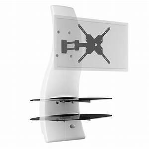 meliconi ghost design 2000 rotation blanc meuble tv With meuble tv meliconi ghost design 2000