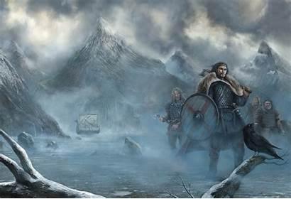 Viking Norse Wallpapers Vikings Yggdrasil Background Mythology