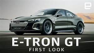 Audi E Tron Gt : audi e tron gt first look fast and beautiful youtube ~ Medecine-chirurgie-esthetiques.com Avis de Voitures