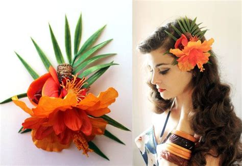 Tiki, Rockabilly And Pin-up Hairstyle