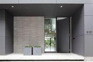 une porte d39entree sur mesure avec schuco architecturabe With porte d entrée schuco