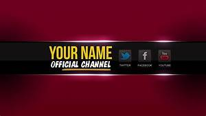 youtube one channel change your youtube channel art banner With cool youtube channel art templates