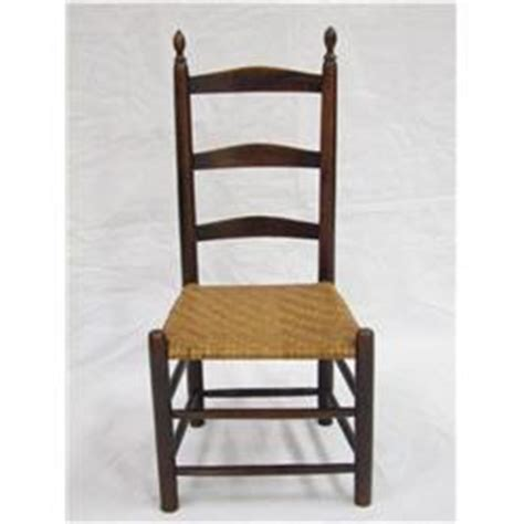 1870 ne shaker ladder back chair splint seat