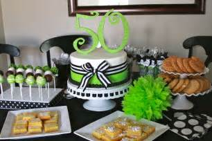 50th Birthday Ideas for Parties
