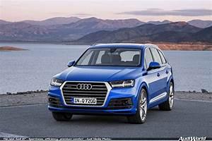 The New Audi Q7  U2013 Sportiness  Efficiency  Premium Comfort