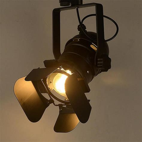 track lighting american industrial clothing store creative