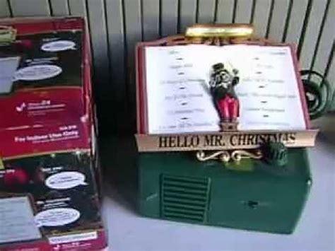 mr christmas maestro mouse lights sounds of christmas