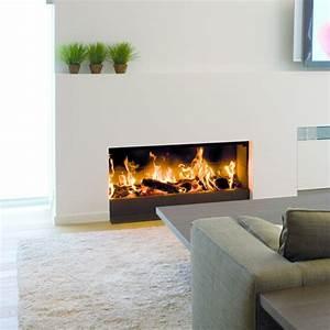 Cheminée Bois Design : chemin e a bois ~ Premium-room.com Idées de Décoration