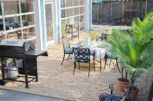 How to Create a Chic Gravel Patio - The Home Depot Blog