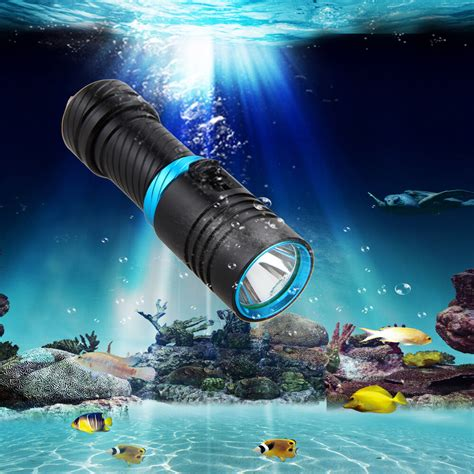 underwater  lm cree xm  led scuba diving