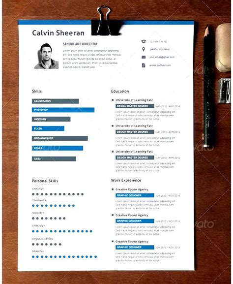 creative resume template for director free sles