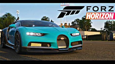 Forza horizon 4 pc 21:9 зима клубная кольцевая. Forza Horizon 4 Game Play , Bugatti Chiron !! - YouTube