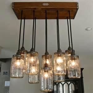 kitchen island lights fixtures kronleuchter selber machen