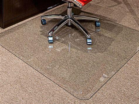 executive chair mat 40 x 60 clear glass chair mats