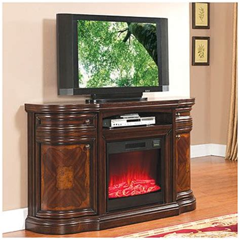 fireplace tv stand big lots 60 quot cherry media electric fireplace at big lots places