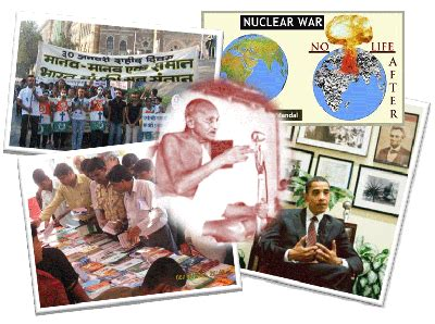 current news news announcements  mahatma gandhi peace