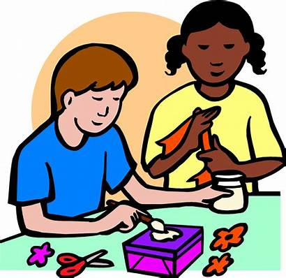 Clipart Crafts Arts Supplies Clipartpanda Clip Children