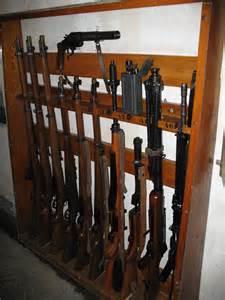 wooden build your own gun rack pdf plans