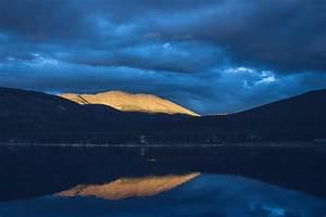 free, photo, , mountain, lake, , dark, clouds, -, free, image, on, pixabay