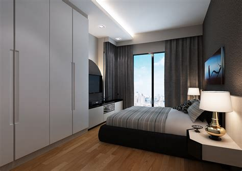 Small Master Bedroom Design Singapore by Designer Profile Angelyn Wong