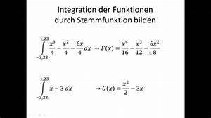 Fläche Zwischen Zwei Graphen Berechnen : fl che zwischen zwei graphen youtube ~ Themetempest.com Abrechnung