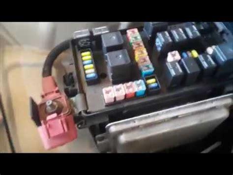 Chrysler Fuse Box Locations Youtube