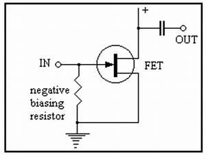 Fet and bipolar transistors for Fet biasing