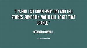 Bernard Cornwell Quotes. QuotesGram