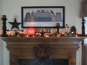 primitive mantle home decor part 2 pinterest