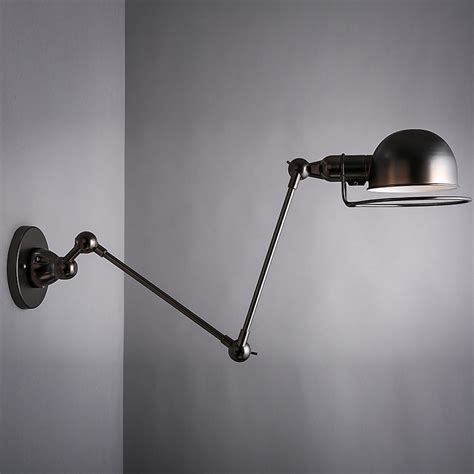 decorative swing arm light black golden nordic vintage loft wall l sconce aisle bar cafe