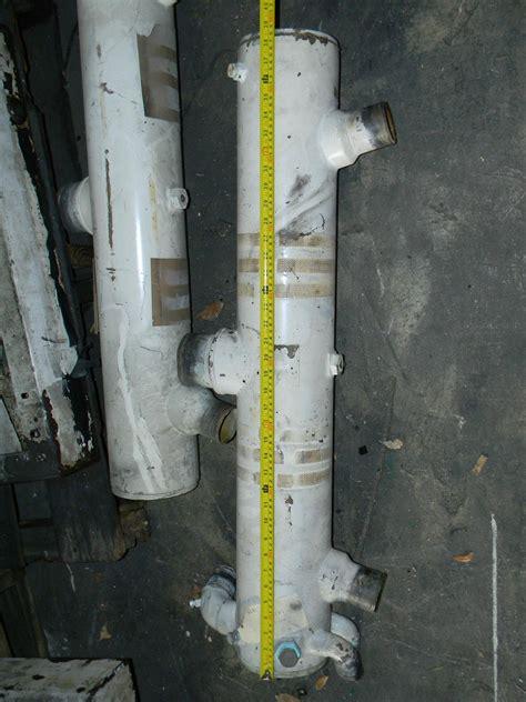 detroit diesel   mechanical heat exchanger tank