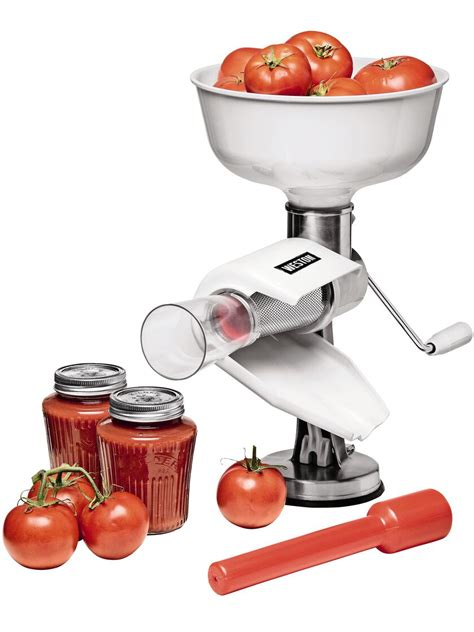 tomato press food strainer tomato sauce maker
