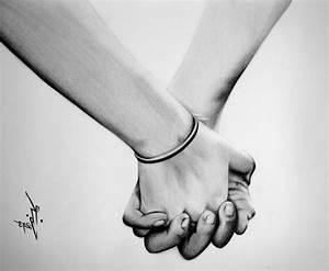 Pencil Sketches Of Couples Holding Hands   www.pixshark ...