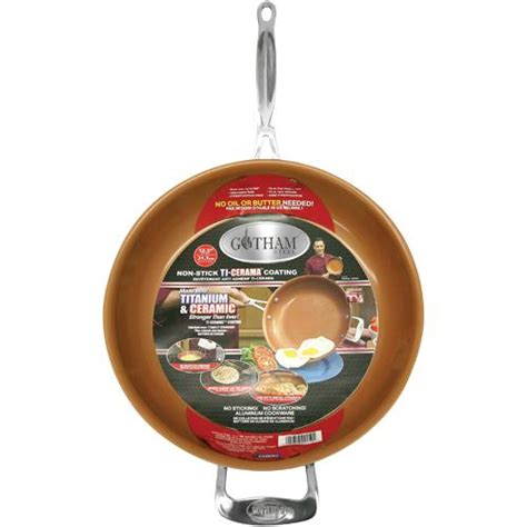 gotham steel   copper frying pan brandsmart usa