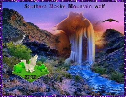 Rocky Southern Mountains Wolf Mountain Water