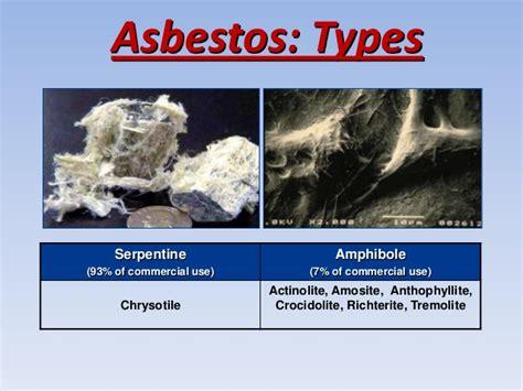 asbestos   environmental   health problem