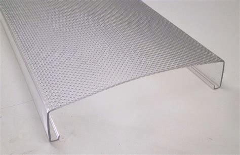 fluorescent light lens covers 24 quot ceiling fluorescent wrap around light fixture cover