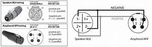 Speakon To 1 4 Wiring Diagram