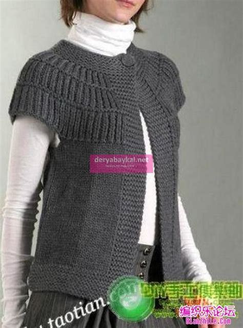 yakadan başlama bayan yelek tarifi tapados chaleco ganchillo chaleco crochet y