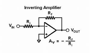 voltage inverting op amp circuit electrical With inverting amplifier