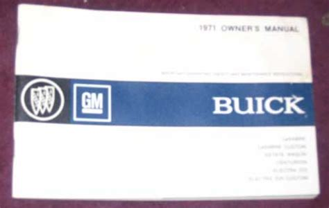 Buick Owners Manual by Ctc Auto Ranch Literature