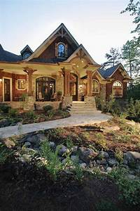 dream house plans Landscape Timber Cabin Plans - WoodWorking Projects & Plans
