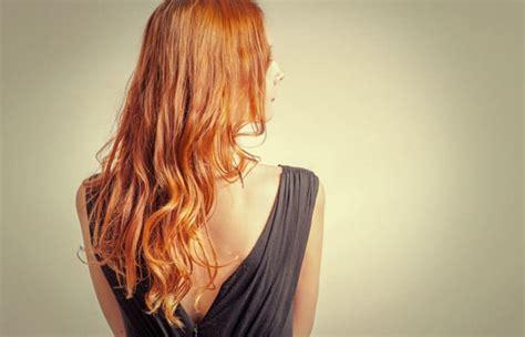 orange   blonde hair