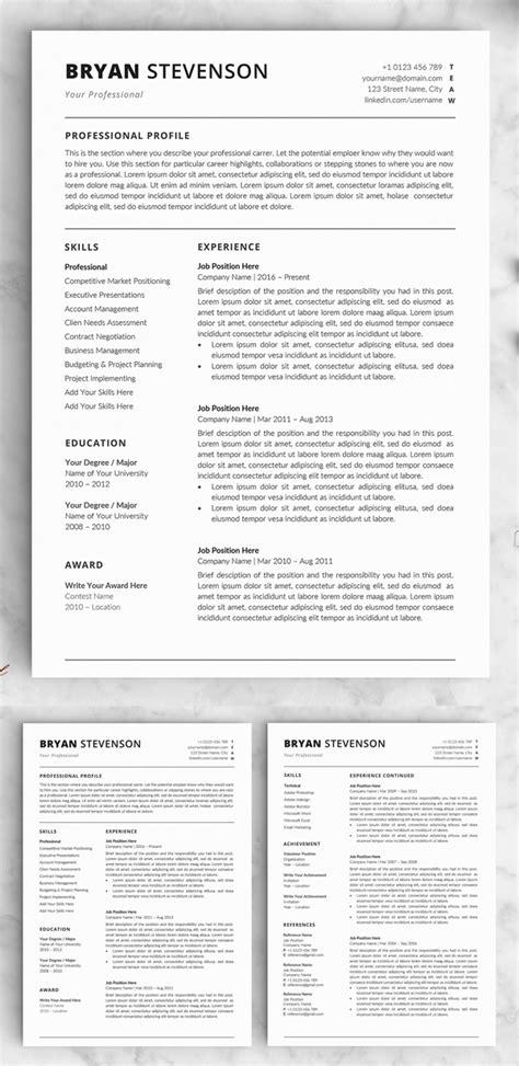 word resume templates design graphic design