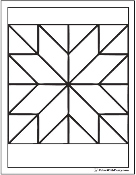 coloring page quilt patterns coloring pages