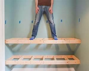 DIY Floating Wood Shelves! (Yellow Brick Home) Wood